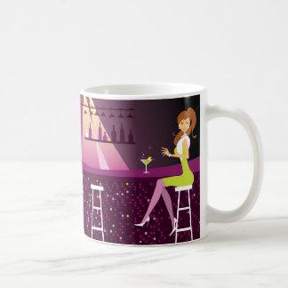 Girl in nightclub Classic Mug