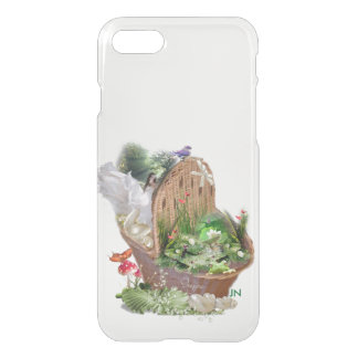 girl in the basket iPhone 7 case