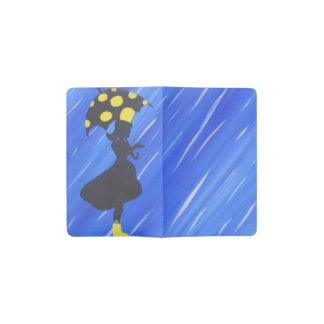 Girl in the Rain Pocket Moleskine Notebook