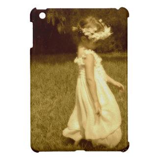girl in the vintage romantic garden