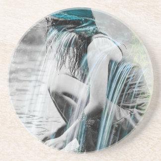 Girl in the Waterfall Coaster