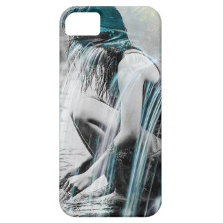Girl in the Waterfall iPhone 5 Cover