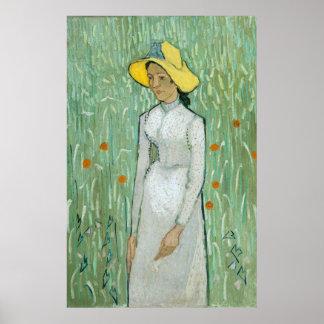 Girl in White (F788) Van Gogh Fine Art Poster