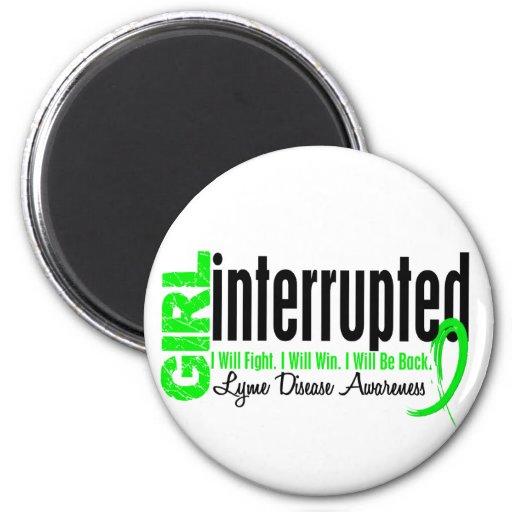 Girl Interrupted 1 Lyme Disease Magnets