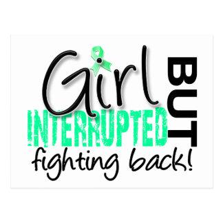 Girl Interrupted 2 Celiac Disease Postcard