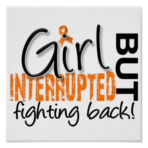 Girl Interrupted 2 Multiple Sclerosis Poster
