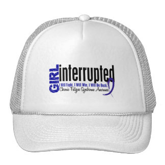 Girl Interrupted CFS Chronic Fatigue Syndrome Mesh Hats