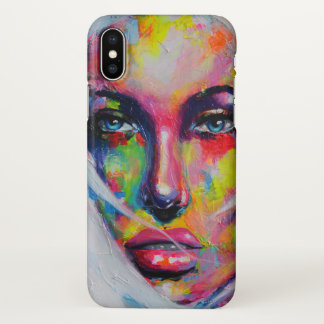 Girl iPhone X Case
