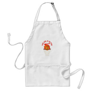 GIRL IS ON FIRE APRON