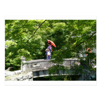 Girl Japan Postcard