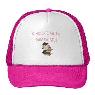 Girl Kindergarten Graduate T shirts and Gifts Trucker Hats