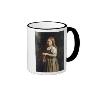 Girl Knitting, 1854 Mugs