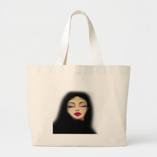 Girl Large Tote Bag