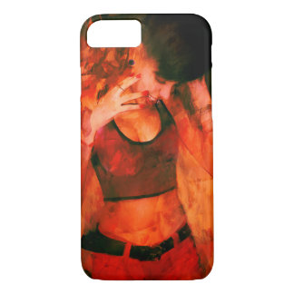 GIRL LAUGHING iPhone 7 CASE