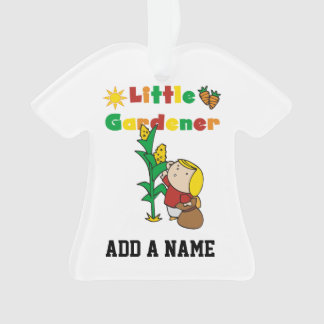 Girl Little Gardener Ornament