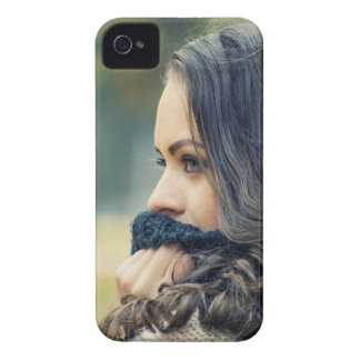 girl-looking-away iPhone 4 Case-Mate case