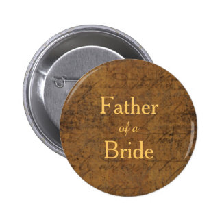Girl Meets Girl Lesbian Bride's Father Badge