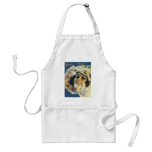 Girl of Mine Vintage Songbook Cover Aprons