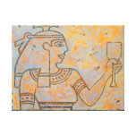 Girl of the Nile Stretched Canvas Print