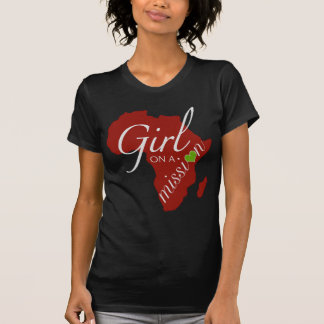 Girl on a Mission - Africa T-Shirt