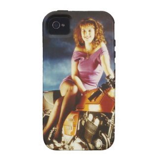 Girl On A Motorcycle Gifts iPhone 4 Cases