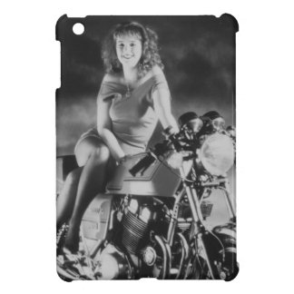 Girl On A Motorcycle Case For The iPad Mini