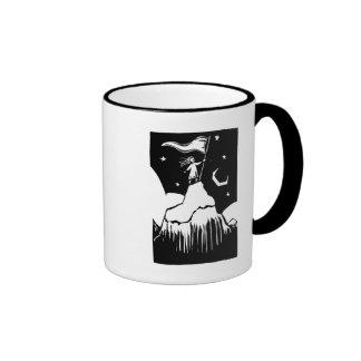 Girl on a Mountian Coffee Mug