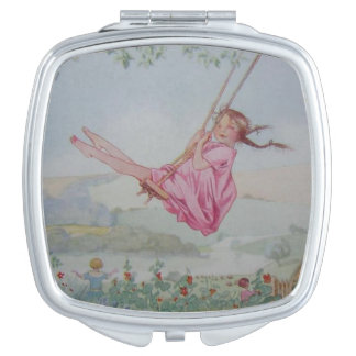 Girl on a Swing, Mirror For Makeup