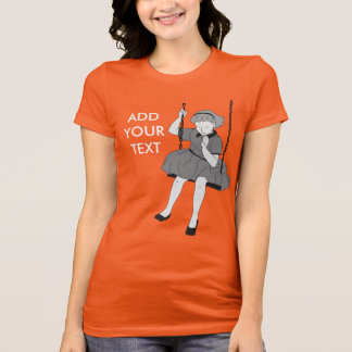 Girl on a Swing T-Shirt