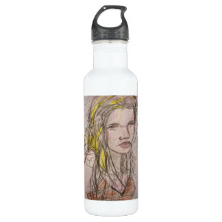 Girl on Beach 710 Ml Water Bottle