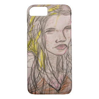 Girl on Beach iPhone 8/7 Case