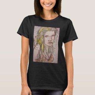 Girl on Beach T-Shirt