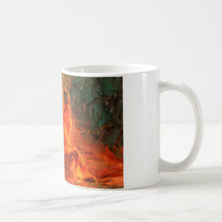 Girl on Fire - Sexy Passionate Art Coffee Mug