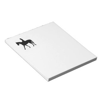 Girl on Horse Notepad