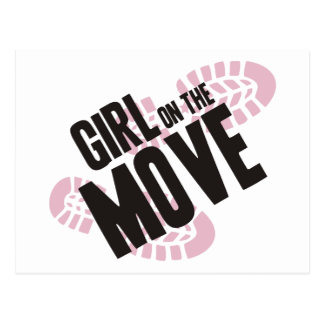 Girl on the Move Postcards