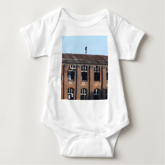 Girl on the Roof 02.2, lost places Baby Bodysuit