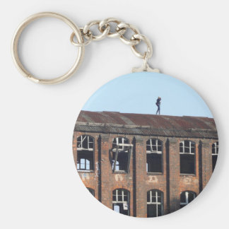 Girl on the Roof 02.2, lost places Key Ring
