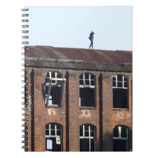 Girl on the Roof 02.2, lost places Notebooks