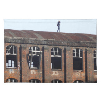 Girl on the Roof 02.2, lost places Placemat