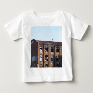 Girl on the Roof - Lost Places Baby T-Shirt