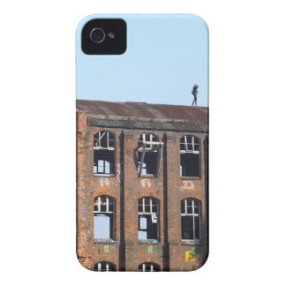 Girl on the Roof - Lost Places Case-Mate iPhone 4 Case