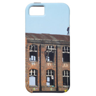 Girl on the Roof - Lost Places iPhone 5 Case