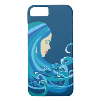 Girl On The Wave Phone Case