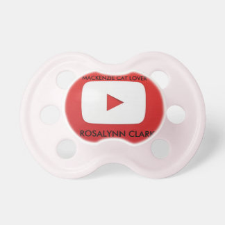Girl Pacifier Supporter 0-6 months