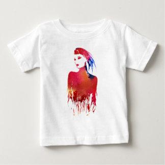 Girl paint baby T-Shirt