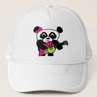 Girl Panda Guitar Fun Trucker Hat