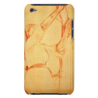 Girl picking cherries by Berthe Morisot Barely There iPod Cases