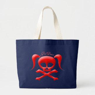 Girl Pirates Tote/Shopping Bag