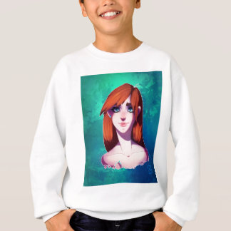 Girl Portrait Sweatshirt