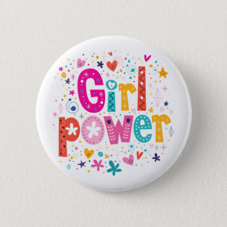 Girl Power Button | Mini Brothers